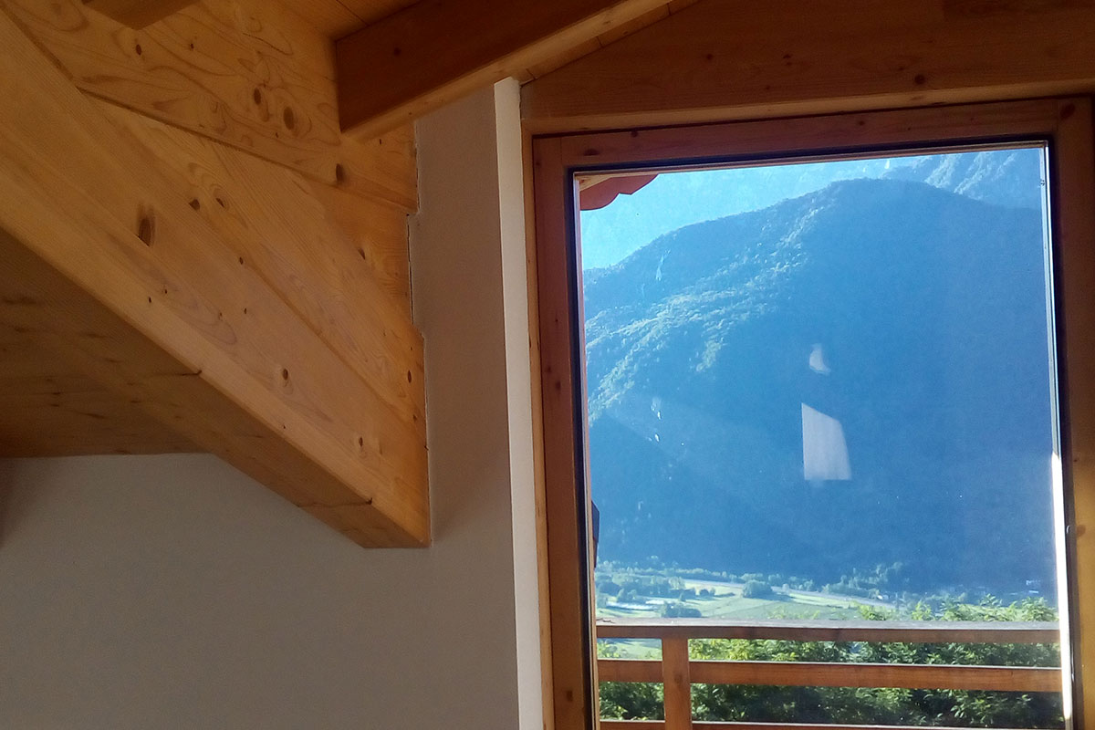 Finestre per tetti velux a Valsugana